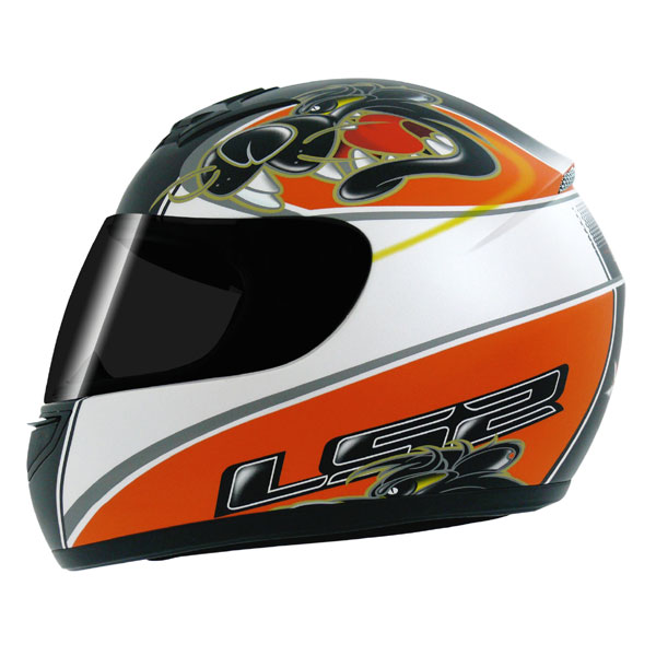 Capacete LS2 FF350 Raging laranja - Frete Grátis   - Super Bike - Loja Oficial Alpinestars