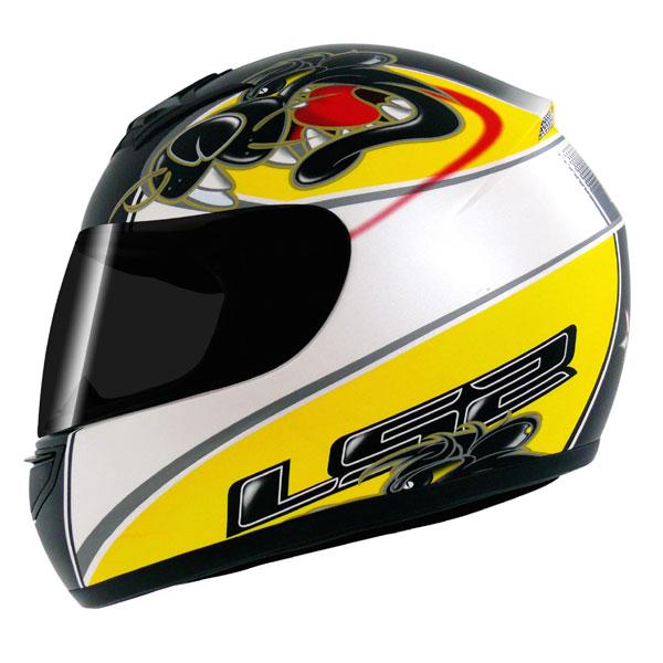 Capacete LS2 FF350 Raging - Amarelo - Frete Grátis   - Super Bike - Loja Oficial Alpinestars