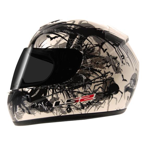 Capacete LS2 FF350 Phobia - Branco  - Super Bike - Loja Oficial Alpinestars