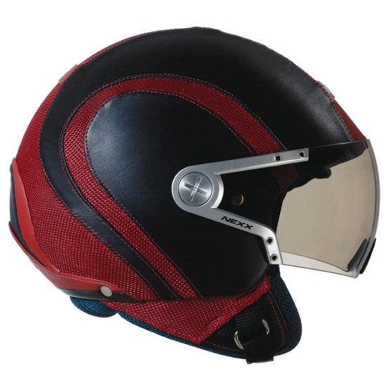 Capacete Nexx X60 Runner Preto c/ vermelho  - Super Bike - Loja Oficial Alpinestars