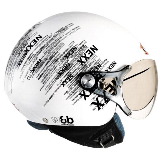 Capacete Nexx X60 B&W  - Super Bike - Loja Oficial Alpinestars