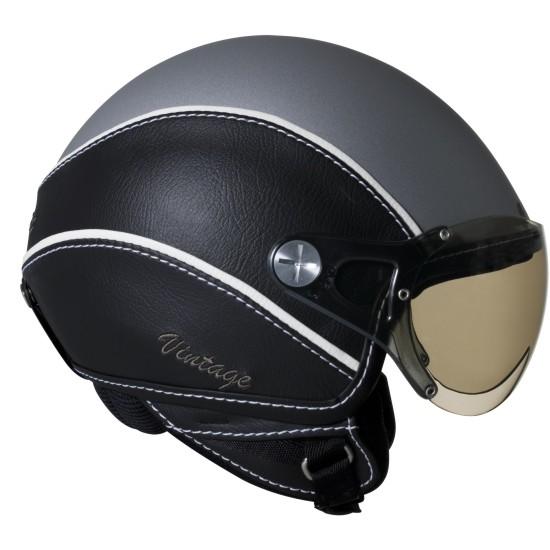 Capacete Nexx X60 Vintage Couro Cinza  - Super Bike - Loja Oficial Alpinestars