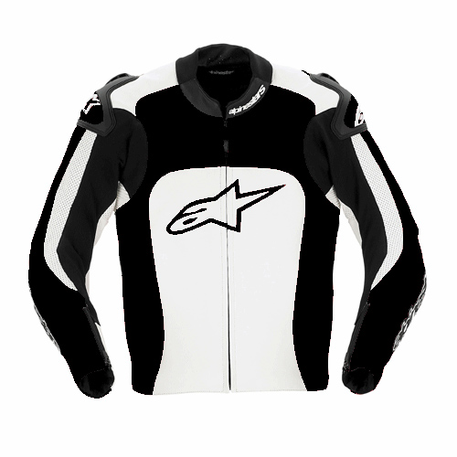 Jaqueta Alpinestars MX-1 - couro  - Super Bike - Loja Oficial Alpinestars