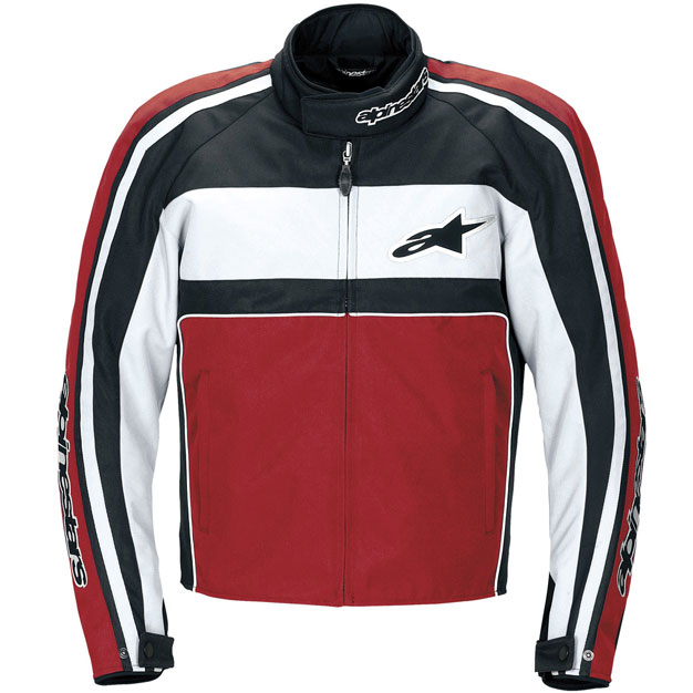 Jaqueta Alpinestars T-Dyno WP (Black Red) impermeável - Super Bike - Loja Oficial Alpinestars