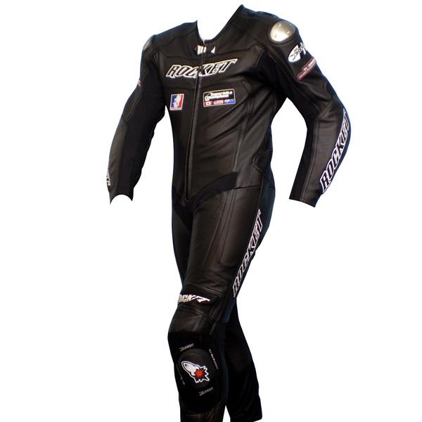 Macacão Joe Rocket Speedmaster 1 pç Preto  - Super Bike - Loja Oficial Alpinestars