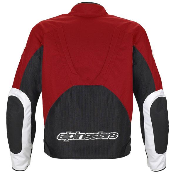 Jaqueta Alpinestars T-RC-1 Air (Vermelha/ Ventilada)  - Super Bike - Loja Oficial Alpinestars