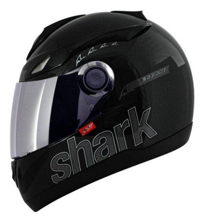 Capacete Shark S500 Esprit Preto Brilhante  - Super Bike - Loja Oficial Alpinestars