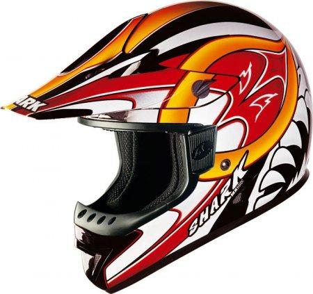 Capacete Shark MX200 Fast Vermelho - Cross  - Super Bike - Loja Oficial Alpinestars