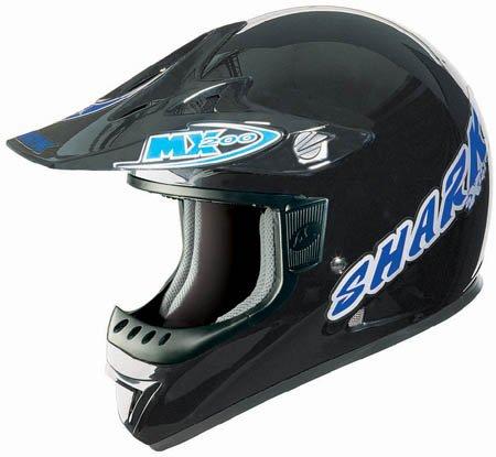 Capacete Shark MX200 Axial Preto - Cross  - Super Bike - Loja Oficial Alpinestars