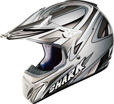 Capacete Shark MXR Mamba Cinza - Cross  - Super Bike - Loja Oficial Alpinestars