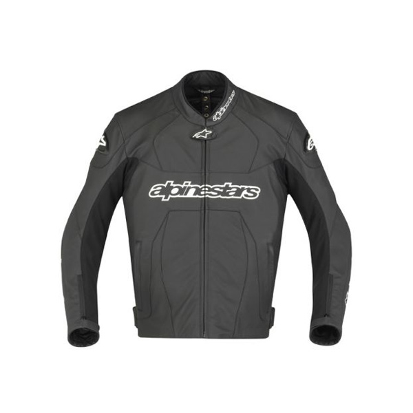 Jaqueta Alpinestars GP Plus Couro (Black)  - Super Bike - Loja Oficial Alpinestars
