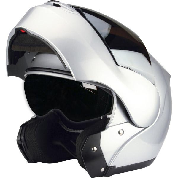 Capacete Zeus 3000 Prata c/ Viseira Solar  - Super Bike - Loja Oficial Alpinestars