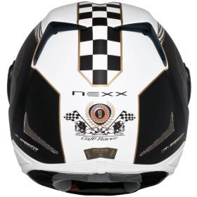 Capacete Nexx XR1R Café Racer Pr c/ Br - Fosco - Ganhe balaclava  - Super Bike - Loja Oficial Alpinestars