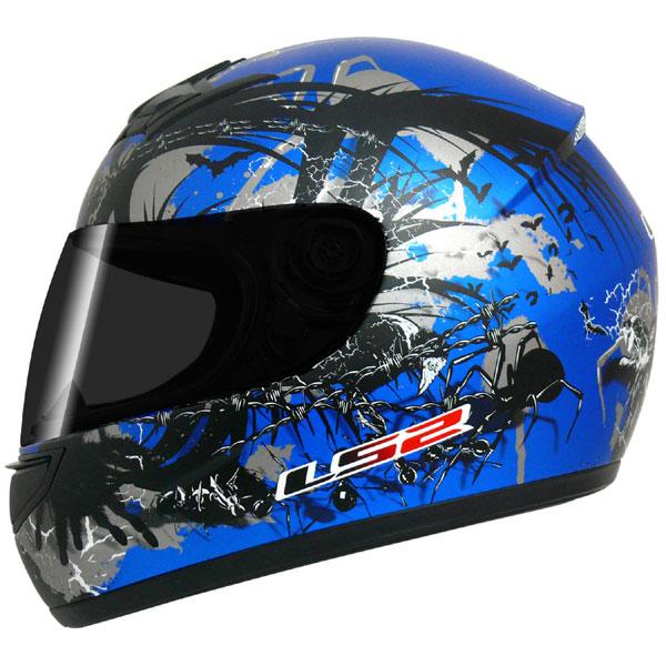 Capacete LS2 FF350 Phobia Azul GANHE BALACLAVA  - Super Bike - Loja Oficial Alpinestars