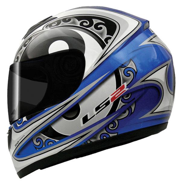 Capacete LS2 FF350 Zen Azul GANHE BALACLAVA  - Super Bike - Loja Oficial Alpinestars