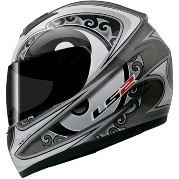 Capacete LS2 FF350 Zen Prata GANHE BALACLAVA  - Super Bike - Loja Oficial Alpinestars