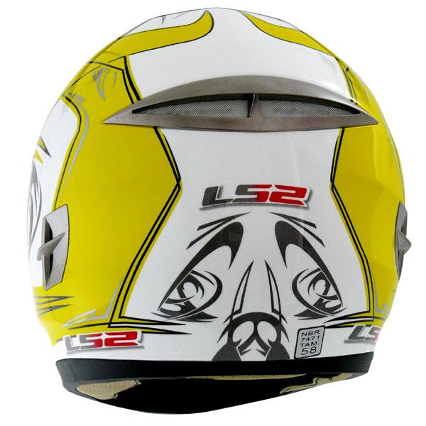 Capacete LS2 FF366 Moai Amarelo  - Super Bike - Loja Oficial Alpinestars