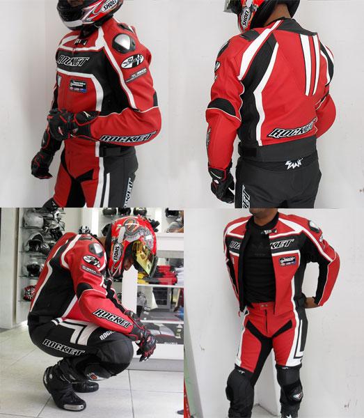 Macac�o Joe Rocket Speedmaster 2 p�s Vermelho - Lan�amento  - Super Bike - Loja Oficial Alpinestars