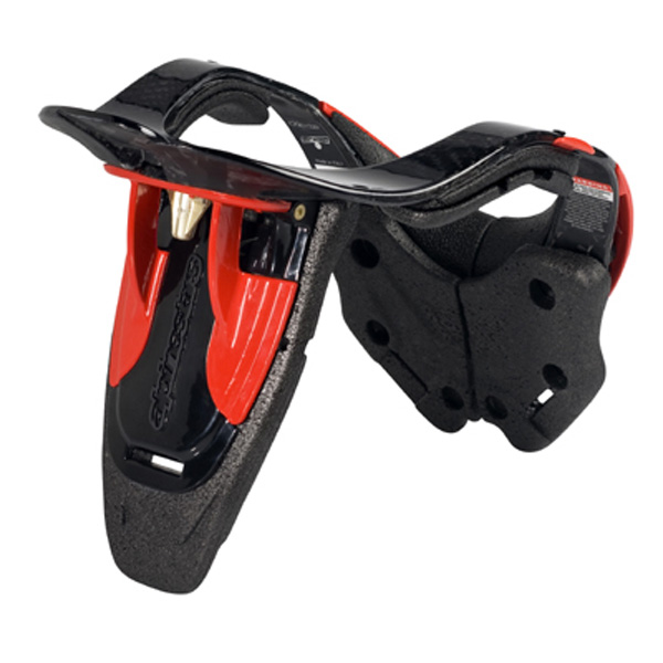 Protetor Bionic Neck Suport Carbon Alpinestars (BNS Carbon)  - Super Bike - Loja Oficial Alpinestars