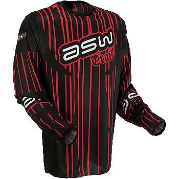 Camisa ASW Trail - Vermelho  - Super Bike - Loja Oficial Alpinestars