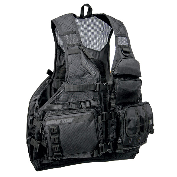 Mochila Ogio Flight Vest - Stealth  - Super Bike - Loja Oficial Alpinestars