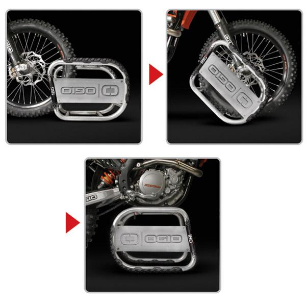 Suporte Ogio 180º - Silver  - Super Bike - Loja Oficial Alpinestars