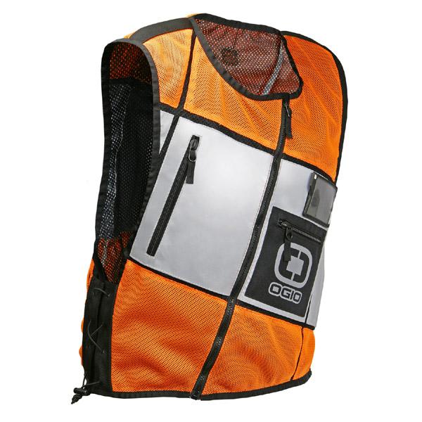 Colete Refletivo Ogio Laranja - Reflective Vest Orange  - Super Bike - Loja Oficial Alpinestars