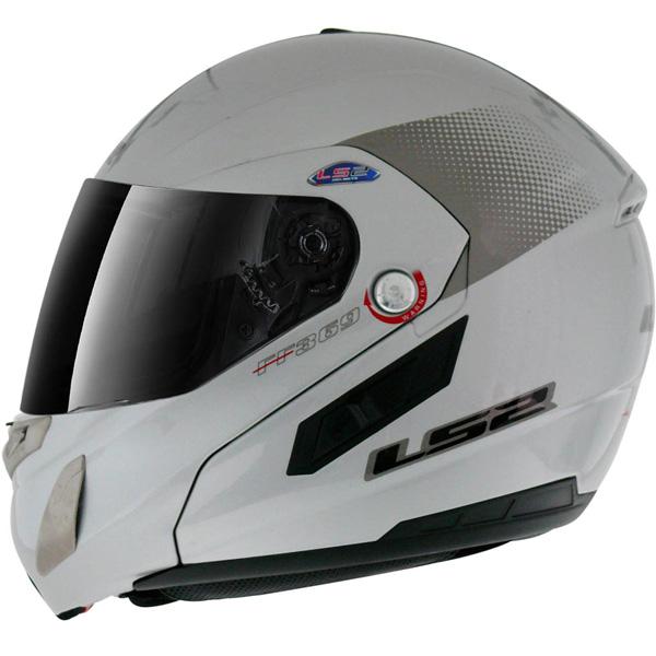 Capacete LS2 FF369 Delta Prata - Escamoteável - Ganhe Balaclava  - Super Bike - Loja Oficial Alpinestars