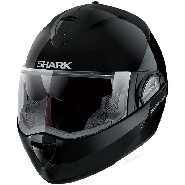 Capacete Shark Evoline Serie 2 Fusion BLK  - Super Bike - Loja Oficial Alpinestars