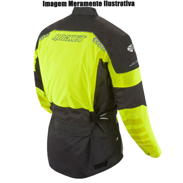 Jaqueta Joe Rocket Ballistic 8.0 - Preta  - Super Bike - Loja Oficial Alpinestars