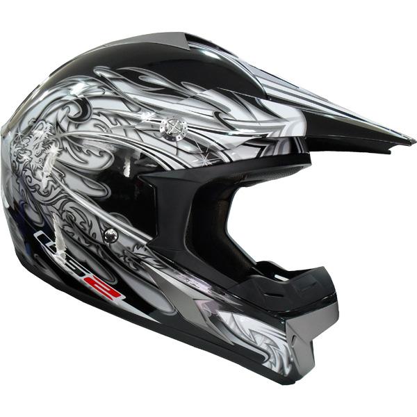 Capacete LS2 MX433 Caos Cinza  - Super Bike - Loja Oficial Alpinestars