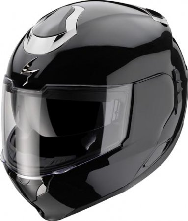 Capacete Scorpion Exo 900 Solid Black Gloss  - Super Bike - Loja Oficial Alpinestars