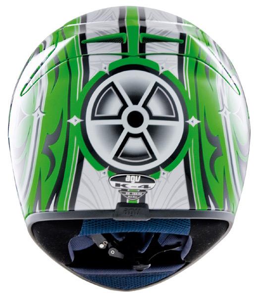 Capacete AGV K-4 Vyrus Green-Silver  - Super Bike - Loja Oficial Alpinestars