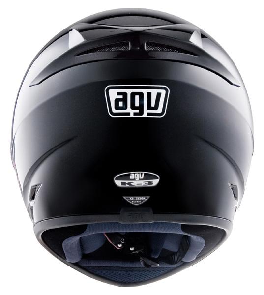 Capacete AGV K-3 Mono Black (Fosco)  - Super Bike - Loja Oficial Alpinestars