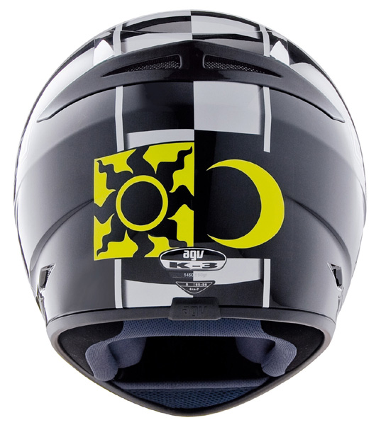 Capacete AGV K-3 Rossi Celebr-8 Black  - Ganhe Camiseta AGV! Banner01  - Super Bike - Loja Oficial Alpinestars