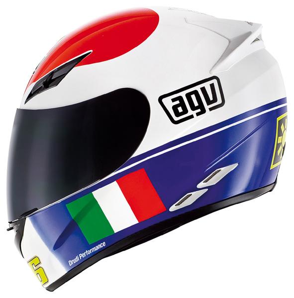 Capacete AGV K-3 Rossi Heart Valentino Rossi  - Super Bike - Loja Oficial Alpinestars