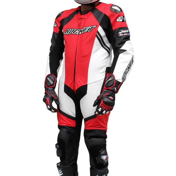 Macacão Joe Rocket Speedmaster 6.0 - 1 pç - Vermelho  - Super Bike - Loja Oficial Alpinestars