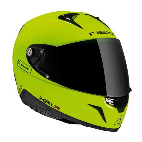 Capacete Nexx XR1R Neon Amarelo  - Super Bike - Loja Oficial Alpinestars