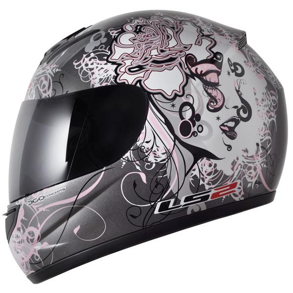 Capacete LS2 FF350 Stardust2 Cinza - Feminino - Sob encomenda  - Super Bike - Loja Oficial Alpinestars