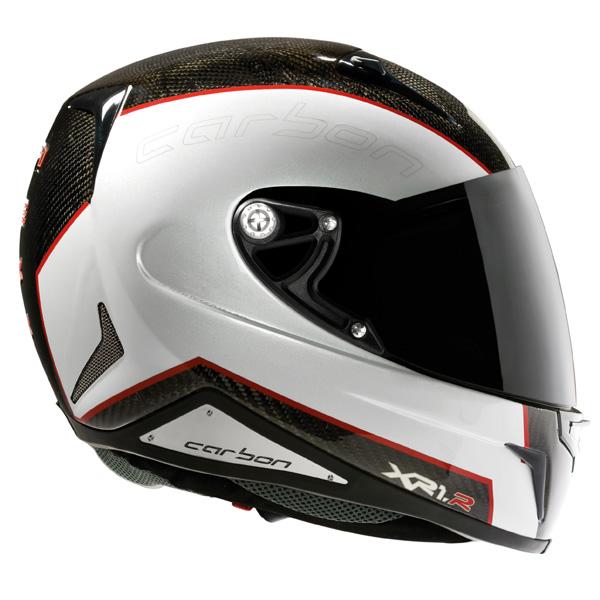 Capacete Nexx XR1R Carbon Branco - Ganhe Camiseta  - Super Bike - Loja Oficial Alpinestars