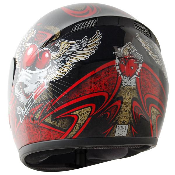 Capacete LS2 FF350 Soul Vermelho GANHE BALACLAVA  - Super Bike - Loja Oficial Alpinestars