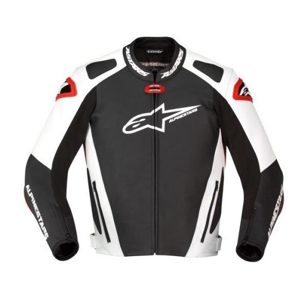 Jaqueta Alpinestars GP Pro Couro (Branco e Vermelho)  - Super Bike - Loja Oficial Alpinestars