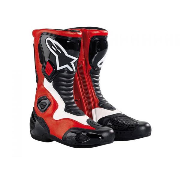 Bota Alpinestars SMX-5 (Preta e vermelha)  - Super Bike - Loja Oficial Alpinestars