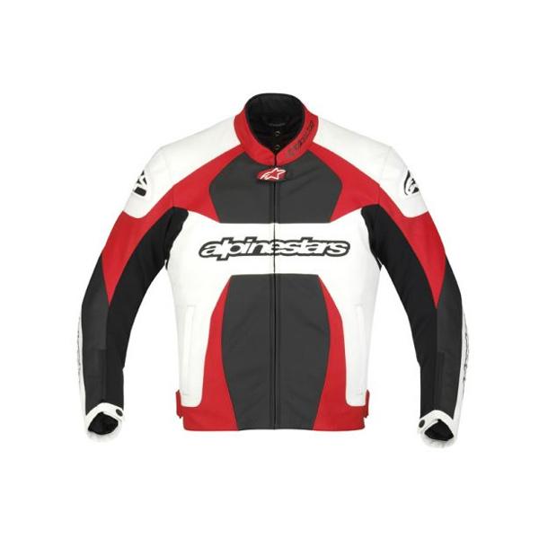 Jaqueta Alpinestars GP Plus Couro (Preta Vermelha)  - Super Bike - Loja Oficial Alpinestars
