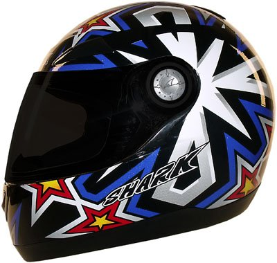 Capacete Shark S500 Serie 2 Drums KBR  - Super Bike - Loja Oficial Alpinestars