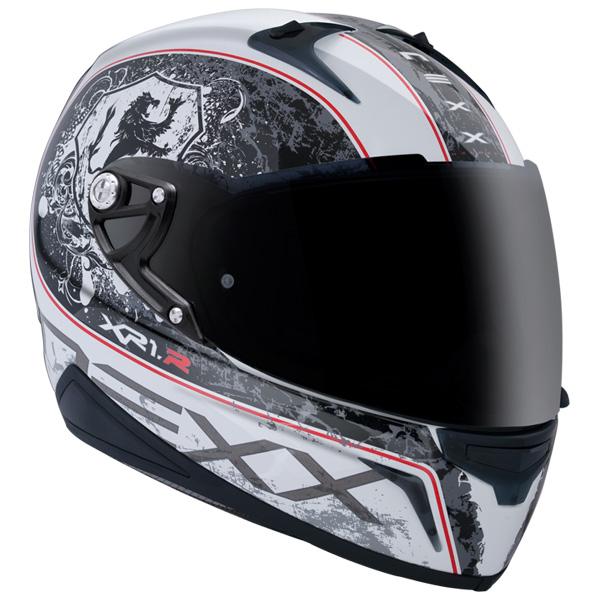 Capacete Nexx XR1R Armor Branco - Ganhe Camiseta  - Super Bike - Loja Oficial Alpinestars
