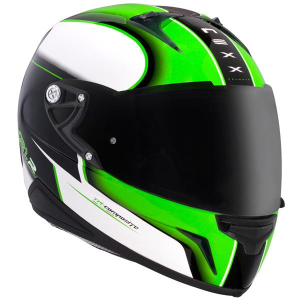 Capacete Nexx XR1R Motion Verde  - Ganhe Camiseta MotoGP  - Super Bike - Loja Oficial Alpinestars