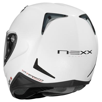 Capacete Nexx XR1R Plain Branco - Ganhe Balaclava  - Super Bike - Loja Oficial Alpinestars