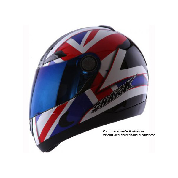 Capacete Shark S500 Air Serie 2 Hurricane  - Super Bike - Loja Oficial Alpinestars