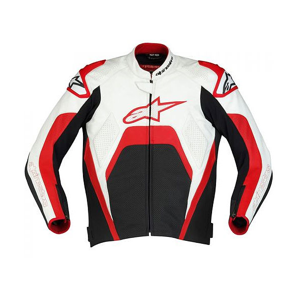Jaqueta Alpinestars Tech1-R Verm.  - Super Bike - Loja Oficial Alpinestars